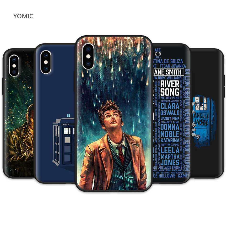 Babaite Tardis Box Doctor Who Soft Silicone Tpu Phone Cover For Iphone 8 7 6 6s Plus X Xs Max 5 5s Se Xr Fundas Capa Half-wrapped Case