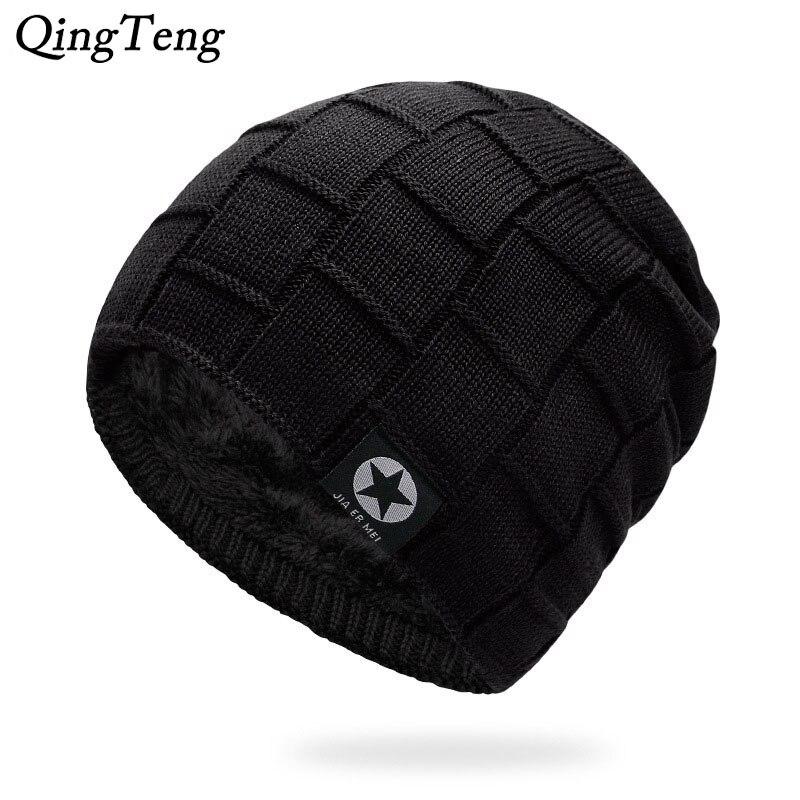 Brand Skullies Beanies Men'S Winter Beanie Hat Winter Hats For Men Cap Winter Knitted Hat Women Bonnet Homme Stocking Caps