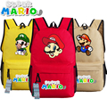 Super Mario Fans Backpack Bag Game Schoolbag Travel Students Bag Cospaly Gift