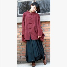 In the autumn 2015 product release, the original design  cotton  linen women loose big yards shirts