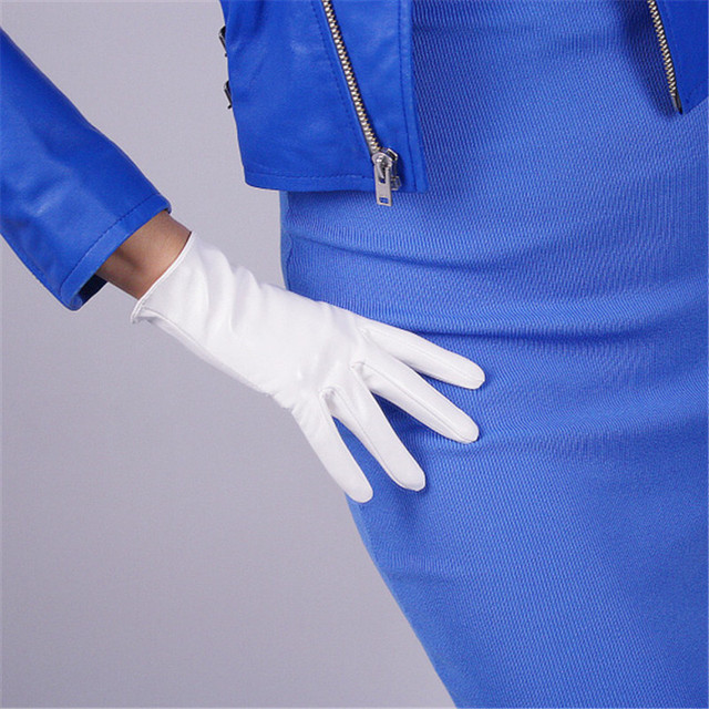 Patent Leather Women Gloves...