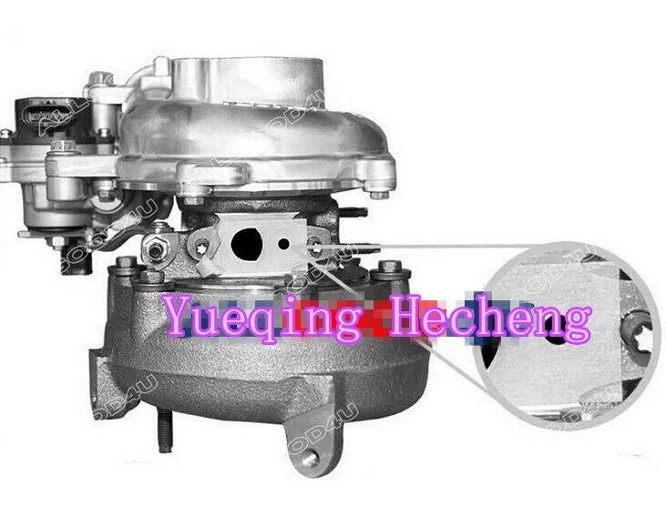 Turbocharger for 1KD-FTV KZN130 3.0 D-4D 173 HP CT16V 17201-30100Turbocharger for 1KD-FTV KZN130 3.0 D-4D 173 HP CT16V 17201-30100