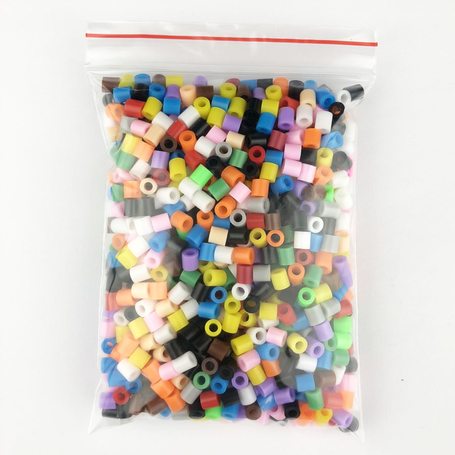 1000 pcs/Bag 5mm Hama Beads/ PUPUKOU Iron Beads KID FUN.Diy Intelligence Educational Toys Puzzles 40