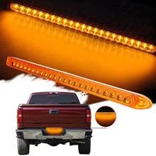 1Pcs Car LED Rear Tail Light 23LED Red Stop Brake 12V Truck Yellow Turn Signal 44cm