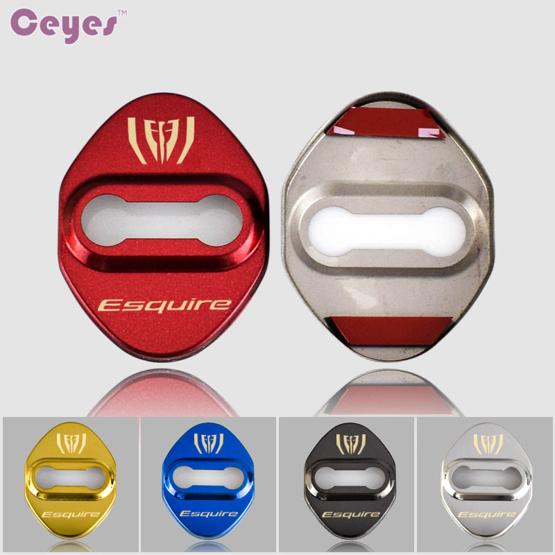 Ceyes Car Styling Case For Toyota Esquire Corolla 2008 Avensis Rav4 Auto Accessories Car Emblems Stickers Car-Styling 4pcs/lot