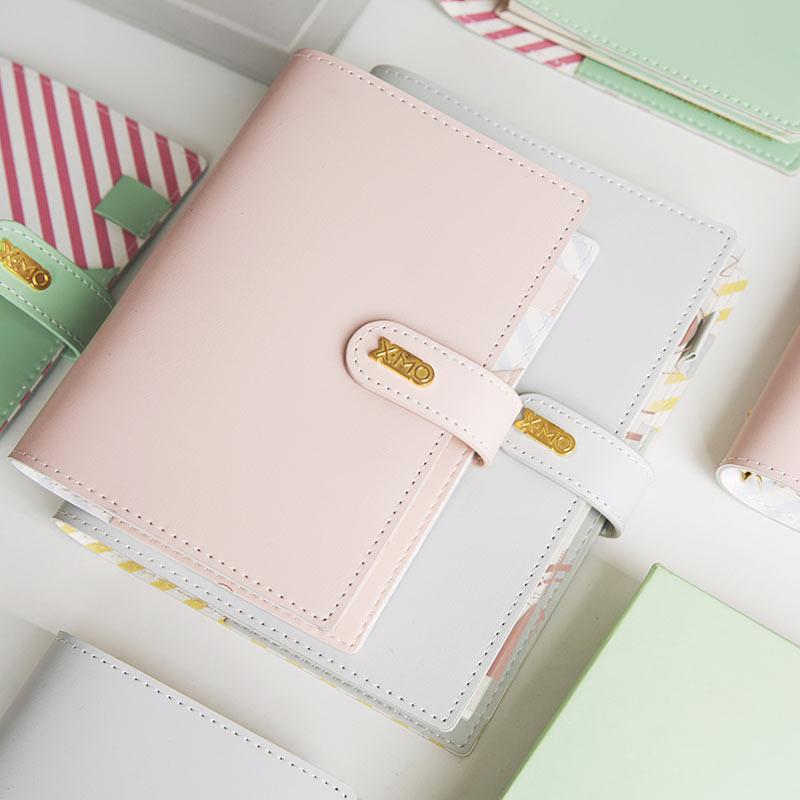2018 Yiwi Macaron Cute Spiral Notebooks Stationery,Fine Office School Personal Agenda Organizer/binder Diary Weekly Planner