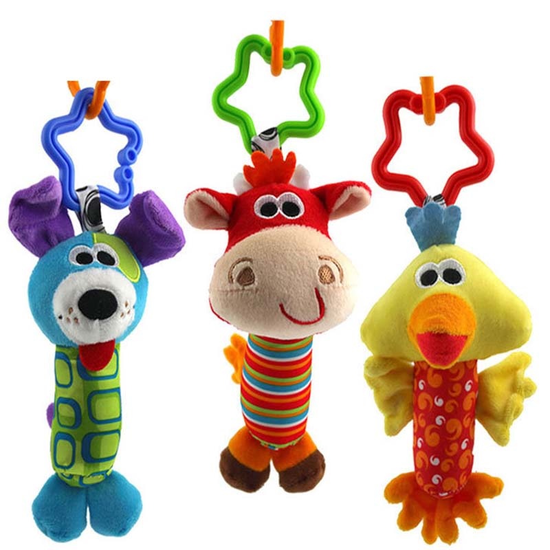 3pcs/lot  Baby Rattle  Toys...