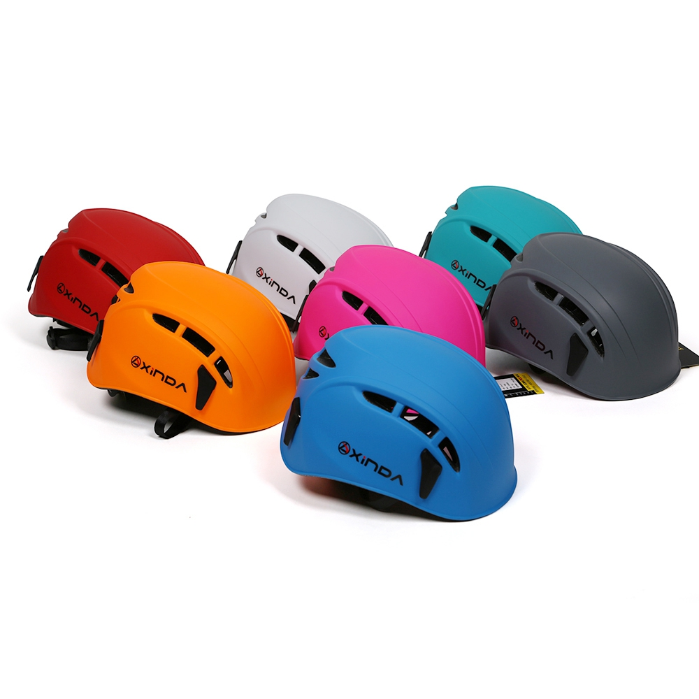 New High Strength And Durable Integrally Molded Rock Climbing font b Helmet b font ABS PC