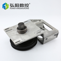 reducer box ration 1: 5 , 1.25M 1.5M gear box for nema34 or 86 stepper motor Integrated Straight helical tooth belt