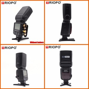 Image 2 - Triopo tr TR 950 Flash Light Speedlite Universale Per Fujifilm Olympus Nikon Canon 650D 550D 450D 1100D 60D 7D 5D Fotocamere REFLEX Digitali