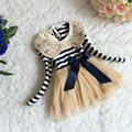 Kids Dresses For Girls Toddler Girl Dress 2015 Robe Fille Enfant Sequin Stripe Vestidos Infantil Infantis Vestido Mujer Meninas