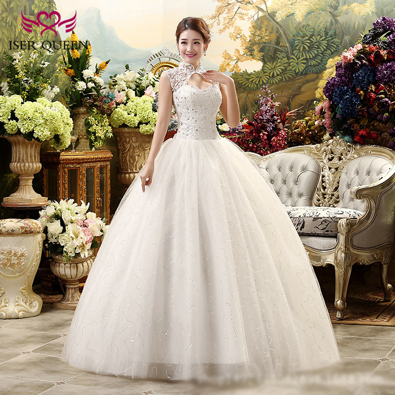 Vintagevestido De Noiva Lace Wedding Dress Ball Gown Robe