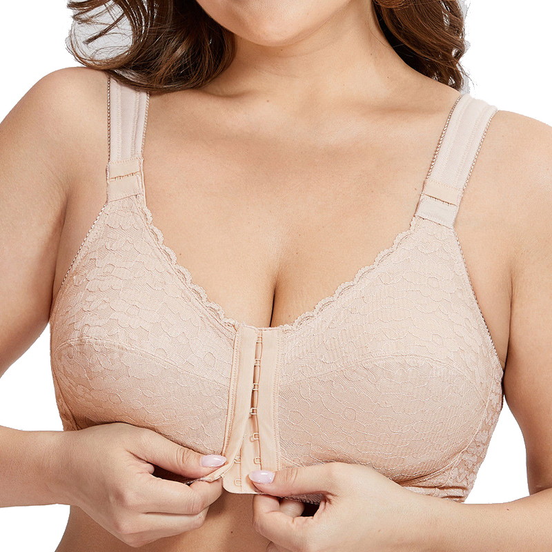 08c06a23e4 38 40 42 44 46 48 50 B C D DD E F Women Plus Size Unlined Seamless Front