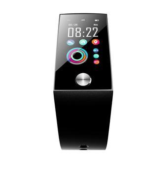 New S28 smart bracelet 1.14 large screen blood pressure ECG heart rate sleep monitoring waterproof information reminder