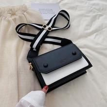 Women Designer Handbag 2019 Fashion New High quality PU Leather Women bag Contrast Lady Tote Shoulder Messenger Bag Crossbody #3