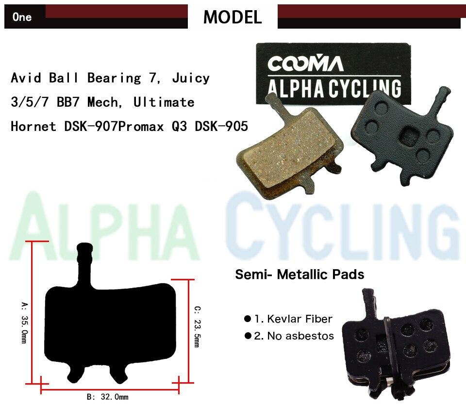 Δίσκοι φρένων δίσκου ποδηλάτων για AVID - Ποδηλασία - Φωτογραφία 2