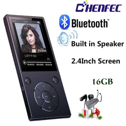 MP3 Player with Bluetooth Speaker touch button slim metal hifi music player with fm radio eBook hi fi walkman support usb,mini S