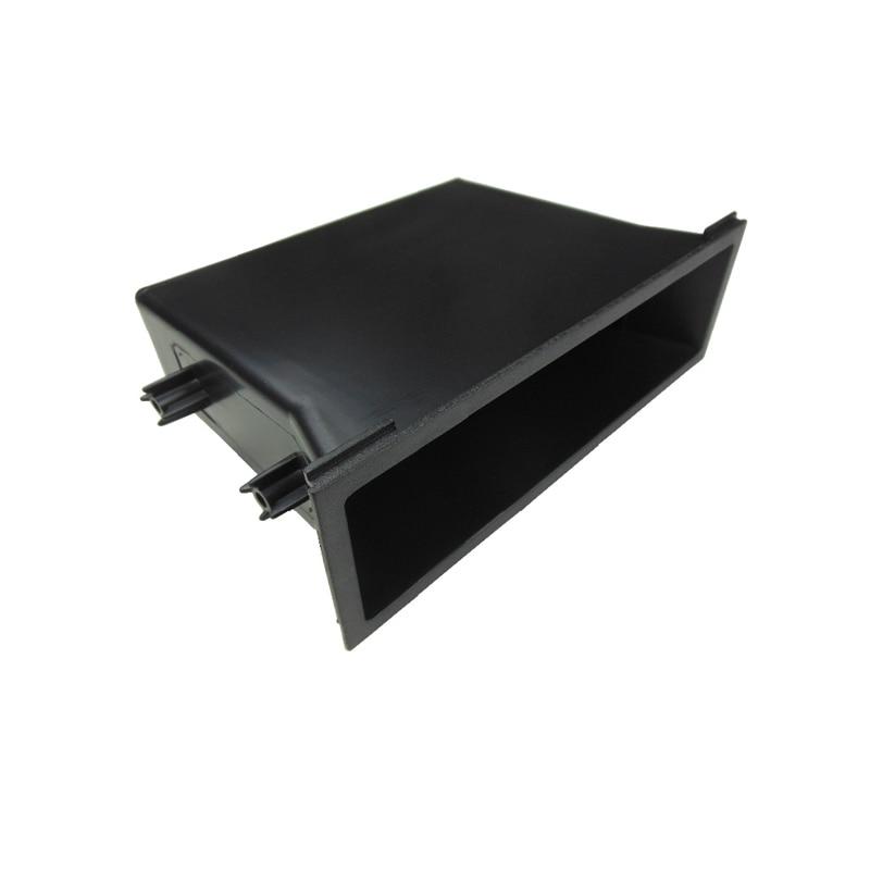 For Nissan Radio Storage Pocket Car Universal Audio CD Single One Din Installation Dash Mount Trim Kit Box