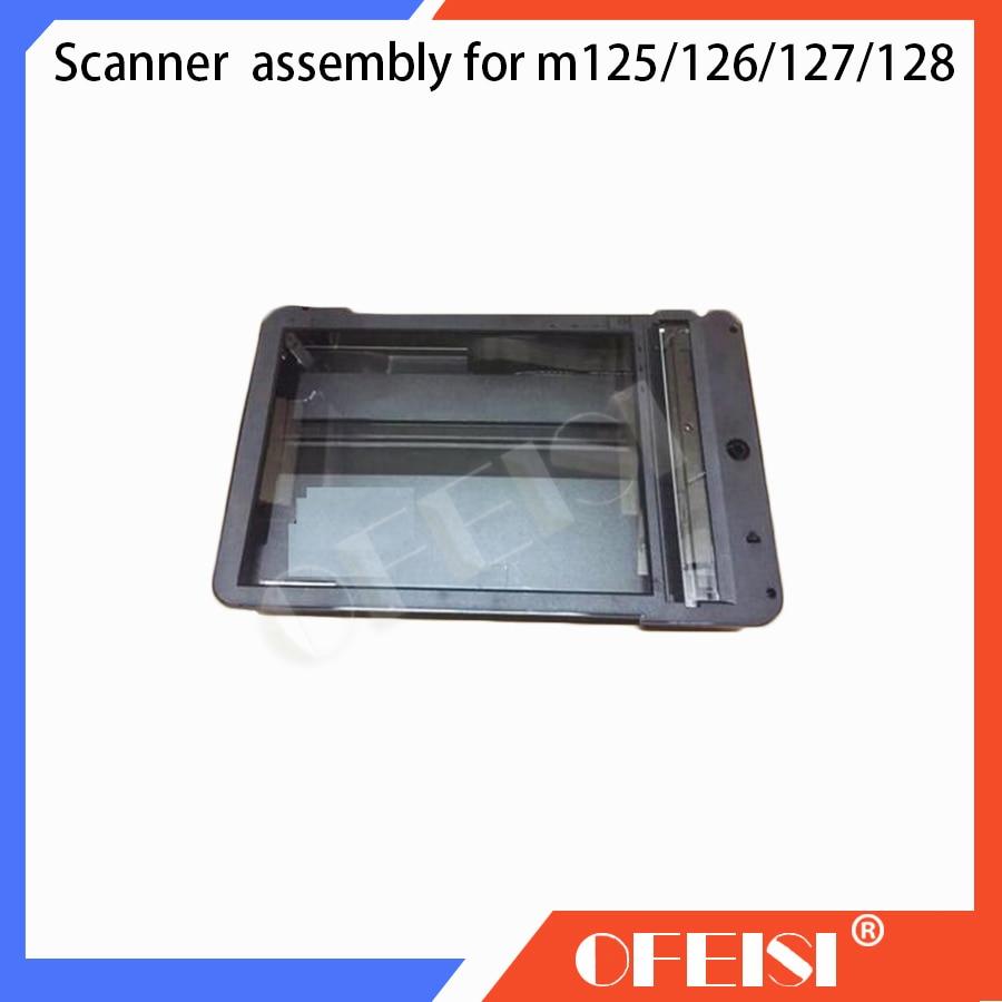 New original CZ181-60101 CZ181-60112 Scanner Assembly for HP laserjet Pro MFP M125a/M125NW/M126A/M128/M127FN/127FW printer parts цена 2017