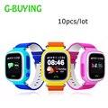 Dhl10pcs/lot pantalla táctil del gps wifi smart watch niños localizador dispositivo anti perdido reloj monitor de bebé inteligente reloj q90