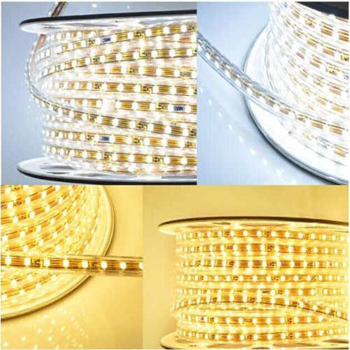 Pearl Weihnachtsbeleuchtung.Smd 5050 Led Strip Light 220v 5m Power Plug White Warm White Green Blue Red Rgb 60leds M 300led Waterproof Ip68 Led Strips