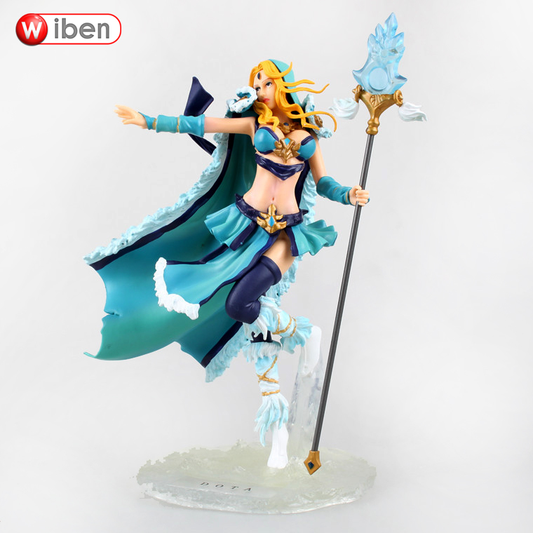 ФОТО Dota 2 Game Crystal Maiden PVC Action Figures Model Collection Toys