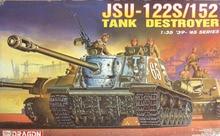 Dragon 6047 1 35 JSU 122S 152 Tank Destroyer