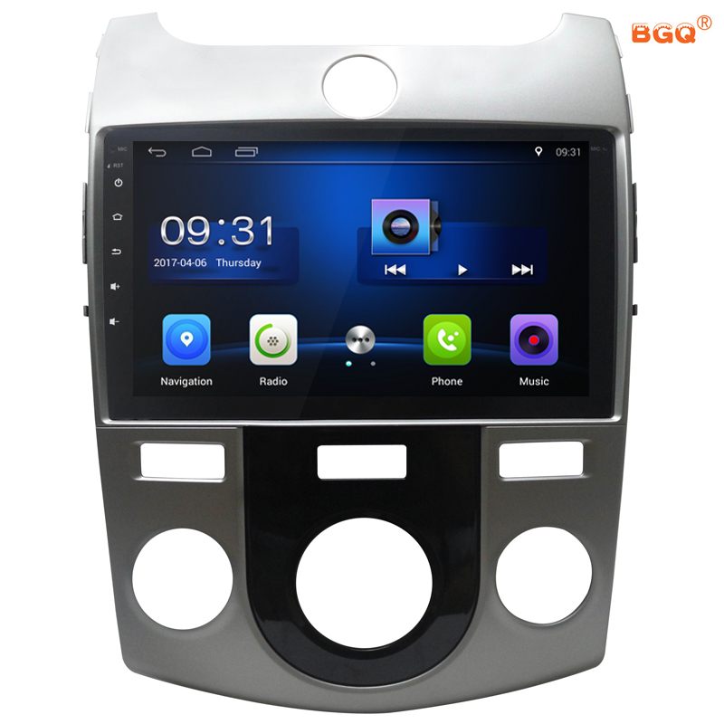 9 Android Car DVD font b Multimedia b font Player GPS For KIA Forte Cerato 2008