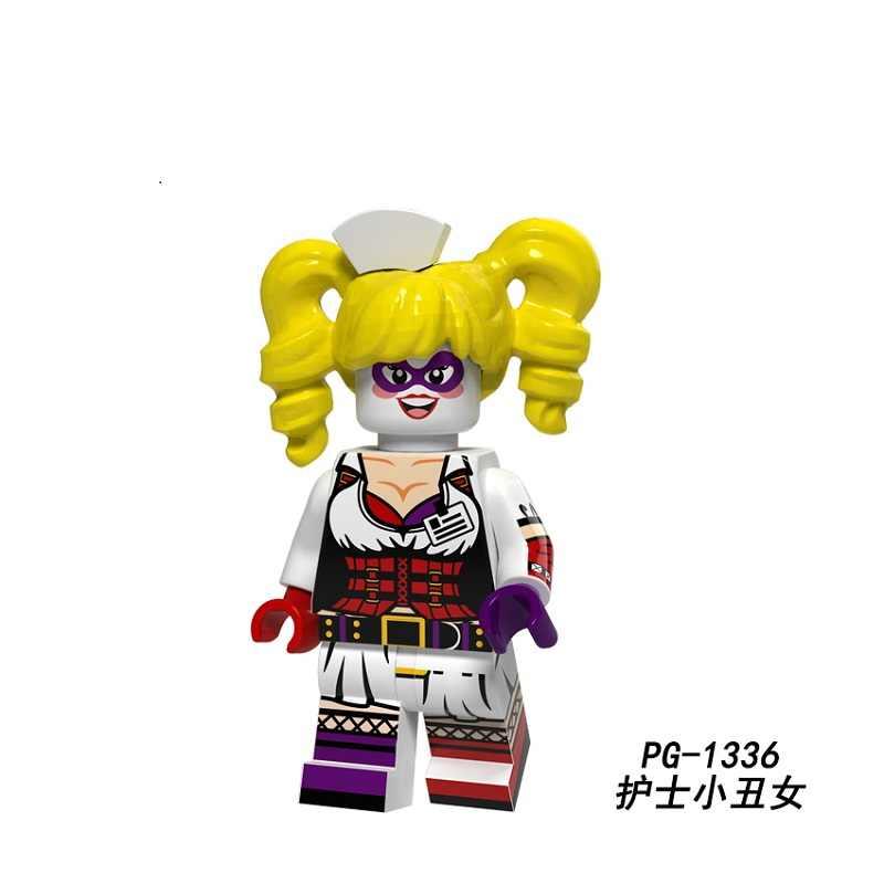 Одна продажа строительные блоки Супер Герои Дэдпул Харли Куинн Робин Доктор Стрэндж Супергерл доункер фигурка игрушки