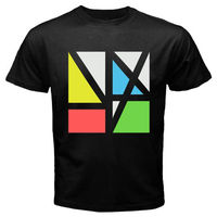 Gildan New Order Plastic Rock Band Legend Men S Black T Shirt Size S M L