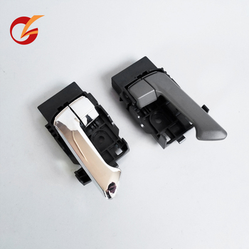 use for isuzu dmax 2002-2012 great wall wingle 3 wingle 5 door inner handle chrome drak gray image