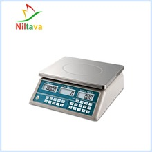 Y2202-A pricing computing scale AND digital price weighing scales 30kg 200kg high accuracy electronic price computing weighing scales digital hanging hook crane scale