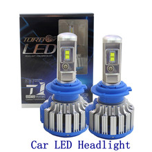 Coche LED Faros H1 H3 H4 H7 H11 9005 9006 70 W 7000lm Delantero Auto Automóviles Bombilla Del Faro 6000 K Car Styling iluminación