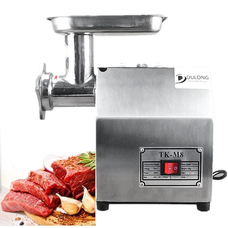 Electrical Meat grinder Stainless steel meat mincer 400W 220V Bench grinder mincing machine meat chopper все цены