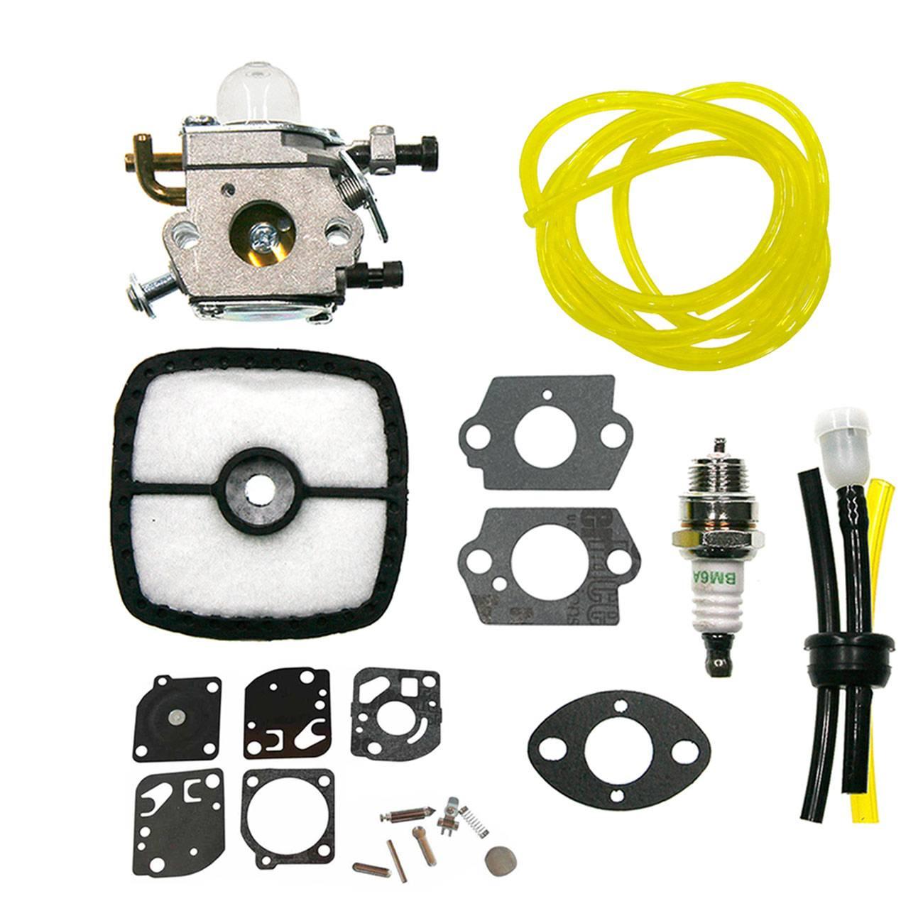 Carburetor  Gasket Fuel Hose air filter spark plug Fits Zama C1U-K78 A021000940 A021000941Carburetor  Gasket Fuel Hose air filter spark plug Fits Zama C1U-K78 A021000940 A021000941