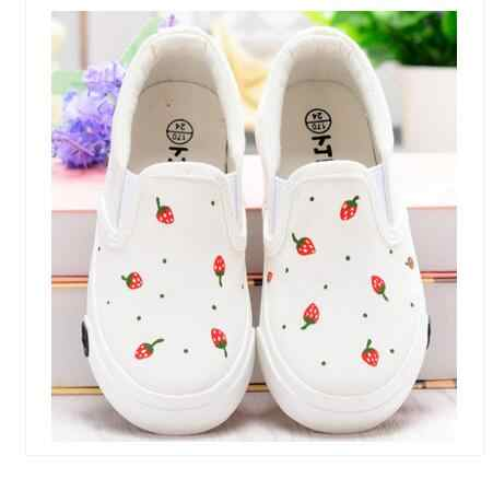 Children Jeans Canvas Shoes 2018 Autumn New Arrival Kids Brand Shoes Simple Boys Sneakers Denim Rhinestone Children Footwear