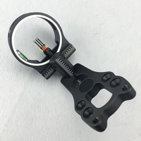 New Extreme Aluminum Compound Bow Sight 3 Pin 0 029 Hunting Archery Fiber Optic