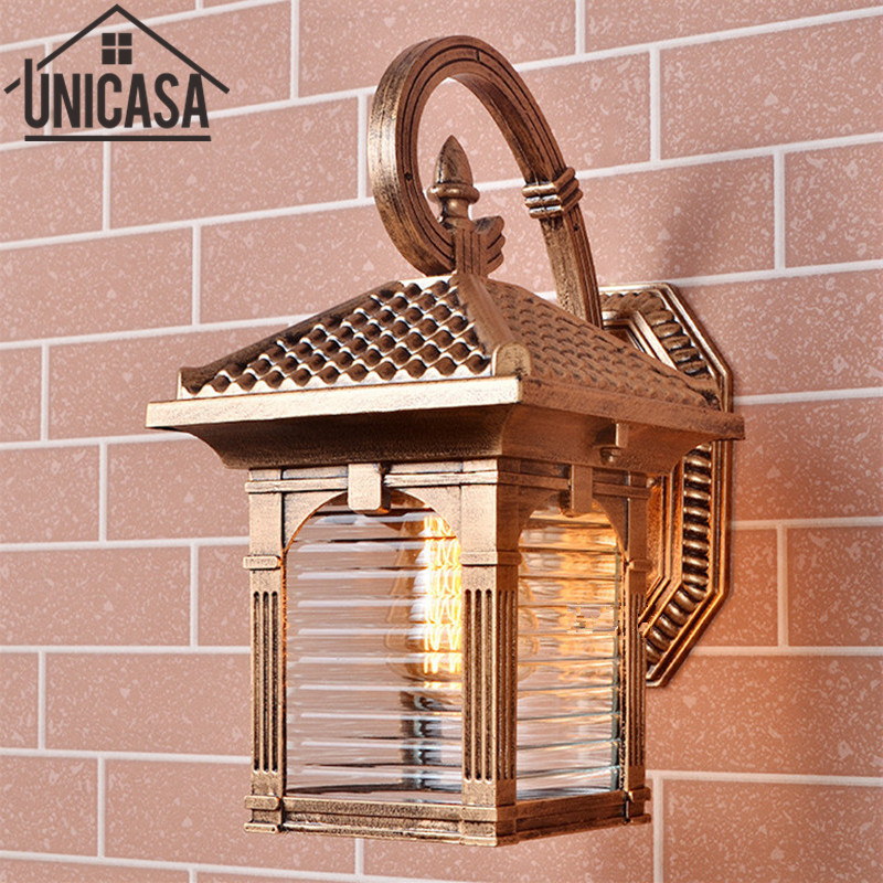 garden outdoor wall lamp vintage
