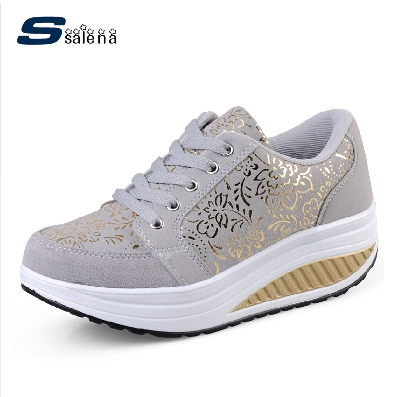 Dropship women casual shoes women summer outdoor shoes spring summer autumn lace up leather swing shoes female top quality free shipping fashion loss weight women shoes spring summer autumn swing female breathable mesh shoes women casual shoes 2717w