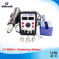 Big Power LY 952D Dual Led 2 In 1 Solder Station With Auto Sleep Function