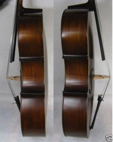 New 4/4 cello Spruce top Maple Back Ebony Parts Powerful Sound Black Color 51 # new 4 4 electric cello powerful sound ebony parts end pin tailpiece peg 1468