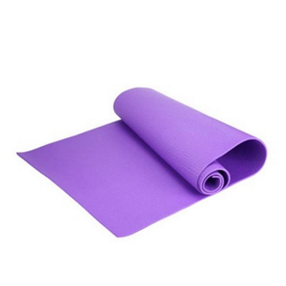Hot EVA Yoga Mat Exercise Pad 6MM Thick Non slip Gym Fitness Pilates Supplies For Yoga Exercise 68x24x0 24inch exercise fitness in Yoga Mats from Sports Entertainment