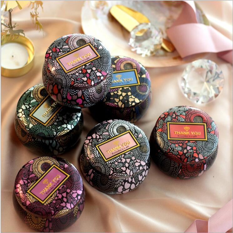 20PCS Vintage Style Iron Box Wedding Candy box Candle Jar Baby Shower Birthday Favors