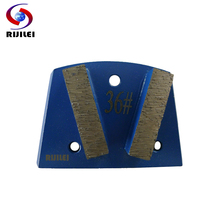 цена на RIJILEI 3pcs/lot Abrasive Grinding Tools Diamond Grinding Plates for Grinding Concrete and Terrazzo Floor Grinding Disc B40