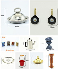 1Pc Miniature Breakfast Milk Teapot Food Bowl Ceramic Vase Kitchen Set Dolls Pretend Play Toy Mini Tableware 1:12 Dollhouse