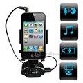 Автомобиль MP3 Функция Поддерживается Автомобильный Держатель Телефона Горе Стенд для iPhone 4 iPhone 4S-Черный