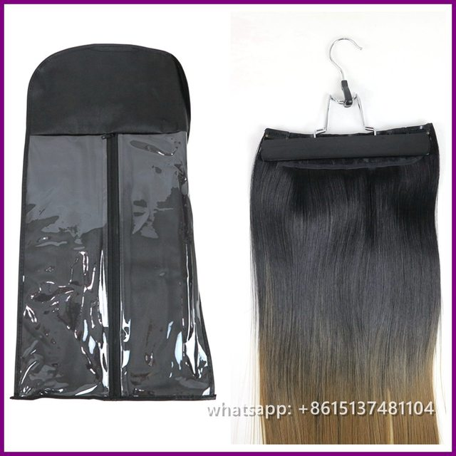 60x30cm Hair Extension Storage Bag With Hanger Professional For