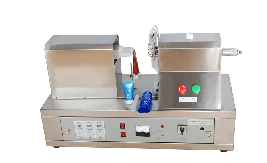 CE Certification Top Grade Ultrasonic Cosmetic Tube Sealing Machine With Date Coder