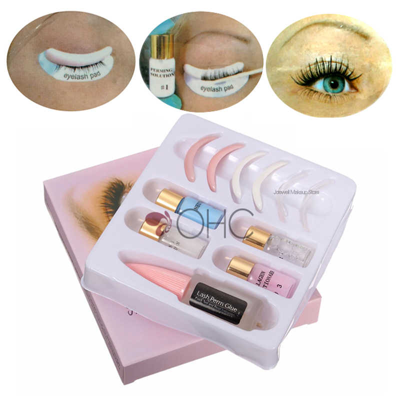 Lash Lift Set Eyelash Perm Kit Wave Lotion Extension Super Curler Glue  Liquid Eye Lash Growth Lash Extension Makeup