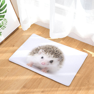 Image 2 - CAMMITEVER Lovely Small Animal Hedgehog Carpet Alfombra Chair mat Seat Pad  Area Rugs Washable Bedroom Kids Room Decoration